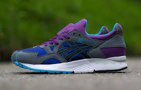 asics black friday asics gel lyte v og grey aqua u0026 purple eu kicks sneaker magazine