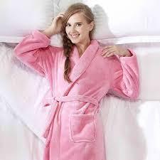 robe de chambre en velours femme robe de chambre polaire femme à col châle achat vente