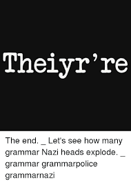 Grammer Nazi Meme - are you a grammar nazi allkpop forums