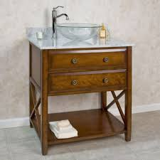 glass vessel sink vanity home design ideas and inspiration