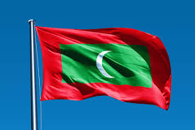 Flag With Red Yellow And Green Vertical Stripes Maldives Flag Colors Meaning Symbolism Of Maldives Flag