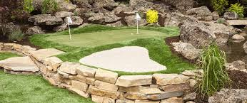 Putting Turf In Backyard Living The Golfer U0027s Dream Your Own Backyard Putting Green