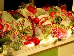 deco mesh ribbon deco mesh garland christmas garland mesh christmas garland