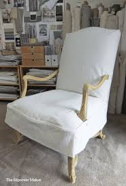 chair and a half slipcovers chair surprising design of armless chair slipcover with