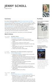 student intern resume samples visualcv resume samples database