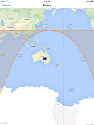 India Google Maps by Ios Google Maps Draws A Wrong Circle If It U0027s Borders Reach The