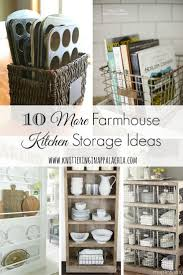best 20 cookbook storage ideas on pinterest cookbook display 10 more farmhouse kitchen storage organization ideas affiliate