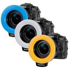 neewer macro ring led light macro led ring flash rf550d for nikon canon dslr camera neewer