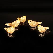 illuminated decorations lighted ornaments