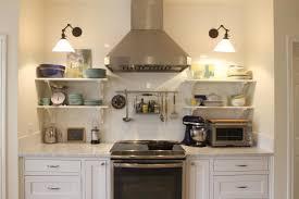 open shelves in kitchen ideas open shelving in kitchen ideas shelves instead of cabinets 2017
