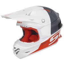 scott motocross goggles motocross helmet scott 350 pro track mxvii white orange
