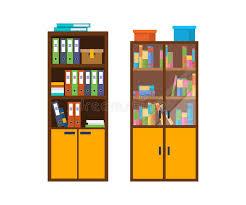 bureau des statistiques coffret en bois de bureau avec beaucoup de dossiers fichiers