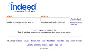 Indeed Com Search Resumes Online Job Search 1 Cs