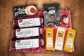 summer sausage gift basket wisconsin s best gift baskets gourmet cheese sausage gift baskets