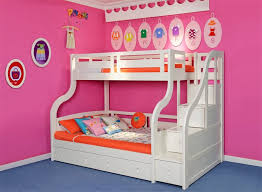 Bunk Bed With Storage Amber Wash Oak Solid Wood Full Over Full - Solid oak bunk beds with stairs