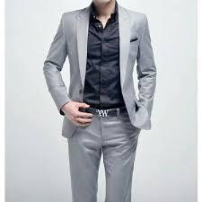 costume de mariage homme hommes 1 bouton costumes d affaires de mariage achat vente