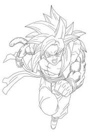 coloriage dragon ball vegeta majin dbz dragon