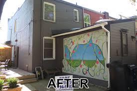 Painting Exterior Brick Wall - toronto brick painting contractor brick house painter toronto