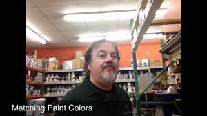 paint color matching at benjamin moore u0026 co youtube