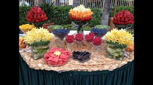 Fruit table decoration ideas
