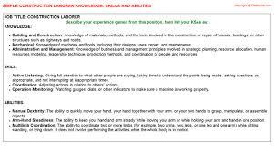 Laborer Resume Samples by Laborer Resume Resume Badak