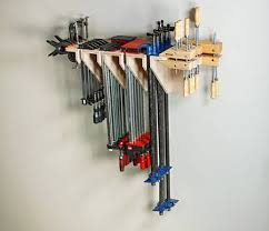 Wood Clamp Storage Rack Plans by Clamp Rack Woodworking Plans Woodworking Plan Workshop Storage