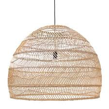 Wicker Pendant Light Hk Living Wicker Pendant Large 80cm Pre Order