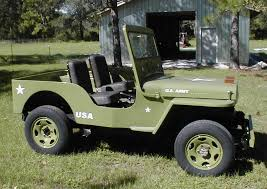 jeep army green m 38 m38 army jeep replica suzuki samurai cj3 339 miles for sale