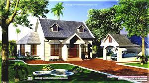Small Garden Design House Kerala The Simple