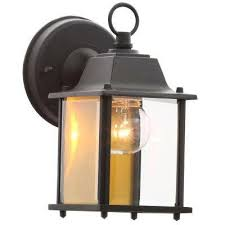wall mounted lantern lights outdoor wall mounted lighting the home depot in lantern light