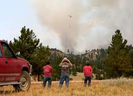 Wild Fire Near Billings Mt by Bronte Wittpenn Visual Journalist Blog