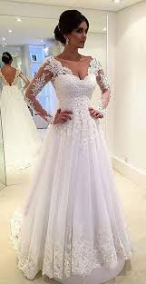 wedding dress a line wedding dresses lace bridal gown sleeve wedding dresses a