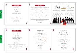 Booklet Wedding Programs Blog U2013 Silhouette Wedding Programs