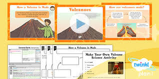 extreme earth volcanoes year 3 lesson pack 2