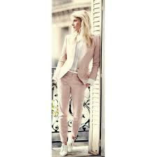 light pink blazer womens custom light pink 2017 fashion womens business suits 2 piece blazer