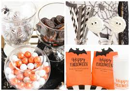 halloween cups and plates holiday entertaining how to design a halloween bar cart beau