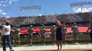 america u0027s got talent star mandy harvey nails national anthem