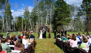 flagstaff wedding venues flagstaff nordic center flagstaff arizona rustic wedding guide