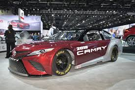 toyota camry 2019 new toyota camry gets its 5 9 liter pushrod v8 for nascar