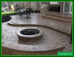 Paver Patio Designs With Fire Pit Inspirational Concrete Patio Designs With Fire Pit 98 In Diy Patio