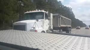 volvo white truck white gmc volvo wca dump truck youtube
