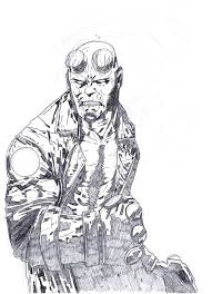 hellboy coloring pages hellboy by sigint on deviantart