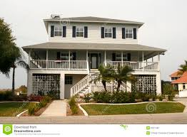 key west style house plans key west style home stock photography