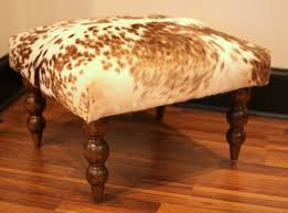 Ottoman Footstools 76 Best Cowhide Footstools Ottomans Images On Pinterest With