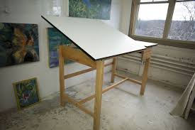 top drafting table top solid oak white top drafting table artist supply source