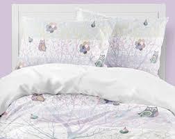 owl nursery bedding etsy