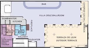 ballroom floor plan miami wedding venue south florida wedding location the cruz building