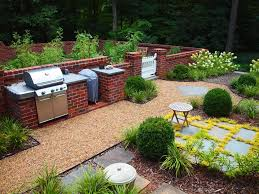 Landscaping Wood Chips by Garden Brick Wall Design Ideas Landscape Traditional With Wood