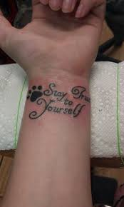 quotes designs on wrist for