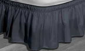 Wrap Around Bed Skirts 85 Off On Waldorf Wrap Around Bedskirt Groupon Goods